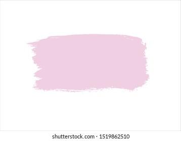 pink brush stroke paint background vector design