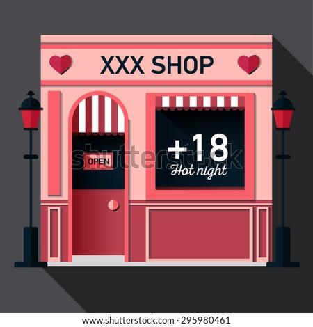 The red door sex store