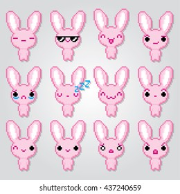 Similar Images Stock Photos Vectors Of Pink Bunny