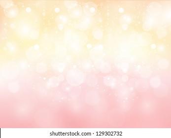 Pink cherry background