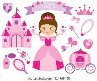 pink flower princess