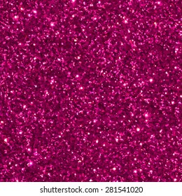 Pink glitter seamless pattern/ texture. Vector illustration.