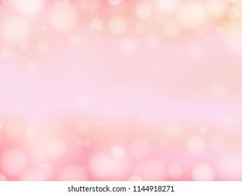 Pink light background