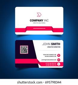 Pink Light Business Card