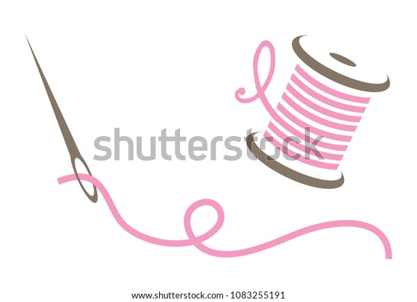 Pink Needle and Thread
