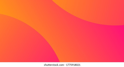 Pink and orange gradient blur abstract circle pattern. Defocused colorful illustration.