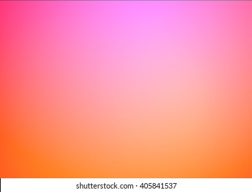 Pink orange gradient illustration background