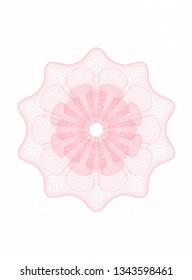 Pink passport rosette