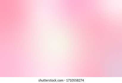 Pink pastel gradient background. Sweet wallpaper for a banner website and social media advertising. valentine concept
