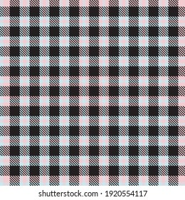 """Pink Plaid, checkered, tartan seamless pattern suitable for fashion textiles and graphics"""""""