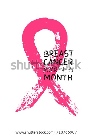 for breast cancer The symbol