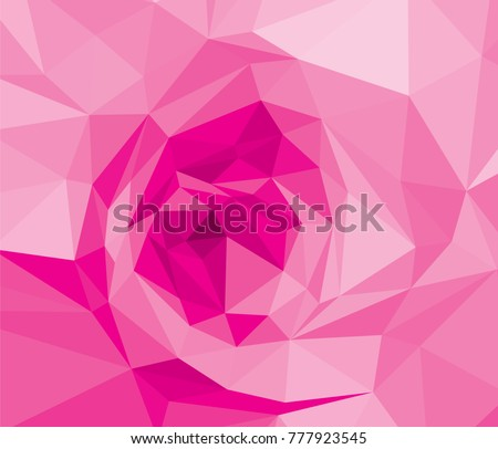 Pink Rose Wallpaper Background Wedding Purple Flora Plant Geometric Banner Graphic Red Low Polygon