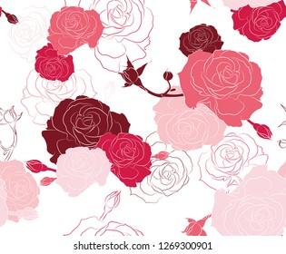 Pink Roses Wallpaper