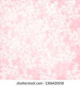 Pink sacura background. Vector illustration.