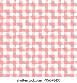 pink seamless gingham pattern
