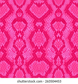 pink snakeskin