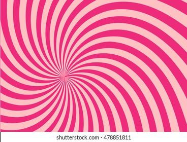 pink twist shape pattern background