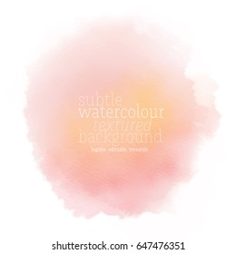 pink water color