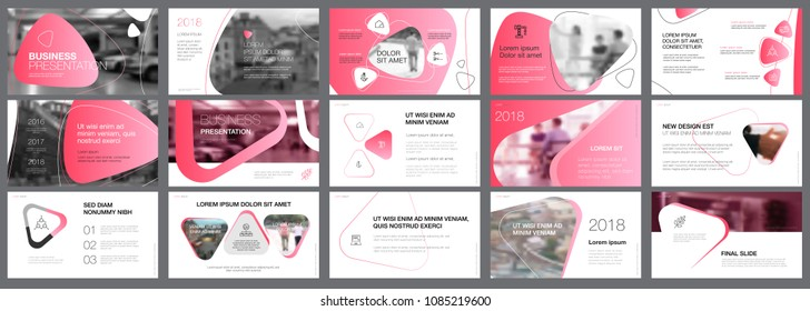 Pink, white and black infographic design elements for presentation slide templates. Business and insurance concept can be used for corporate report, advertising, leaflet layout and poster design.