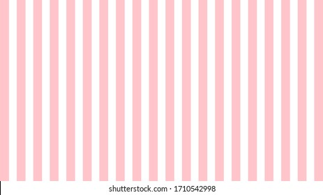 Pink and White Striped Background