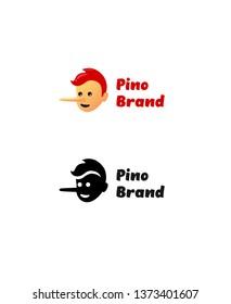 Pinocchio brand logotype