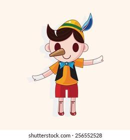 Pinocchio theme elements