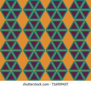 Pinwheels orange and purple