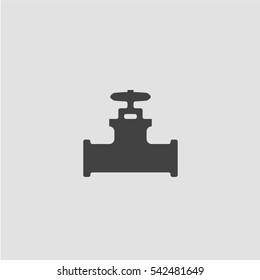 Pipe icon vector