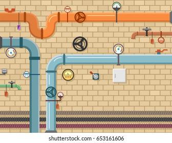 pipeline plumbing background