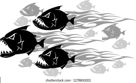 Piranha Feeding Frenzy