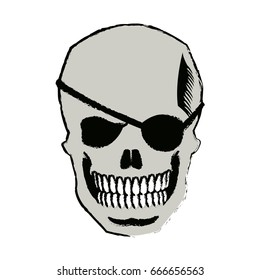 b9c72afa5a30 Skull Funky Eyeglasses Stock Vector (Royalty Free) 645167095 ...