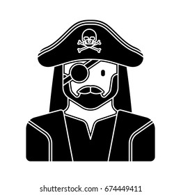pirate caracter icon