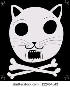 pirate cat flag