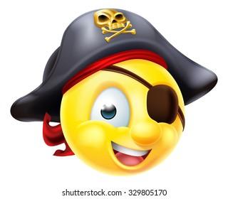 Pirate Emoji Images, Stock Photos & Vectors | Shutterstock
