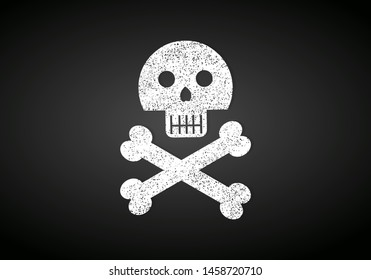 pirate flag isolated vector symbol illustration
