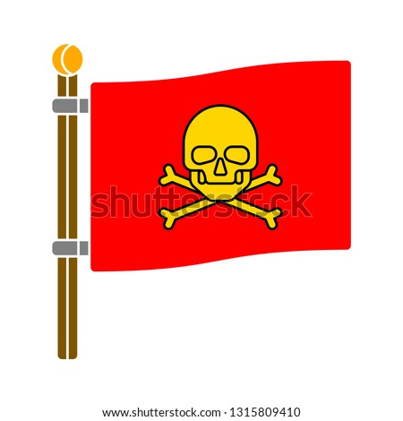 pirate flag jollyroger icon