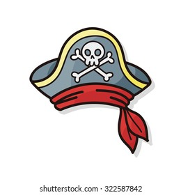 pirate hat images stock photos vectors shutterstock rh shutterstock com cartoon pirate ship cartoon pirate names