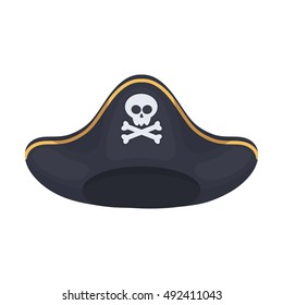 pirate hat images stock photos vectors shutterstock rh shutterstock com Cartoon Pirate Parrot cartoon pirate hat picture