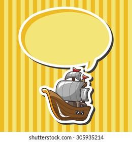 pirate ship theme elements