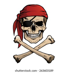 pirate skull images stock photos vectors shutterstock rh shutterstock com Pirate Ship Clip Art clipart skull and crossbones pirate