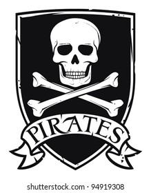 pirate symbol or coat of arms
