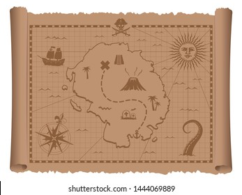 Royalty-Free Treasure Map Stock Images, Photos & Vectors ... on a map of life, a map of love, a map of home, a map of cascade, a map of roosevelt, a map of jupiter, a map of sahara, a map of time, a map of ocean, a map of odyssey,