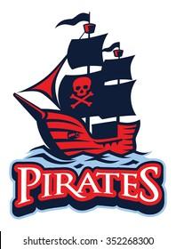 Pirate Vessel mascot