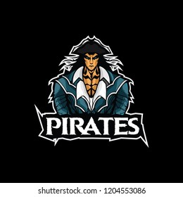 Pirates logo gaming