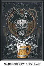Pirates Mug of Beer