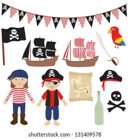 Pirates and Sailing collection