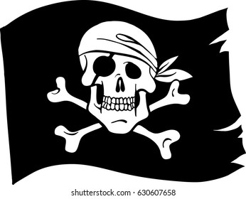 pirates flag images stock photos vectors shutterstock rh shutterstock com MLP Ponyville Flag Pirates of the Caribbean Flag