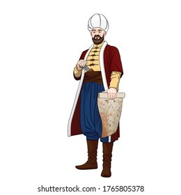 Piri-reis is also Muhiddin Piri-bey - Ottoman navigator, admiral and cartographer.