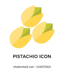 Pistachio icon vector isolated on white background for your web and mobile app design, Pistachio logo concept