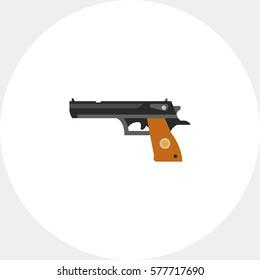 Pistol gun icon